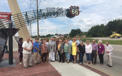 City Council and local leaders tour Route 66 through Tulsa